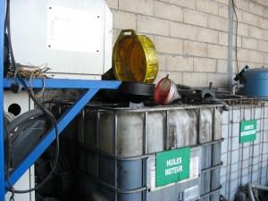 Récupération des fluides automobile